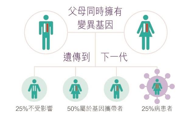 遺傳疾病是如何遺傳