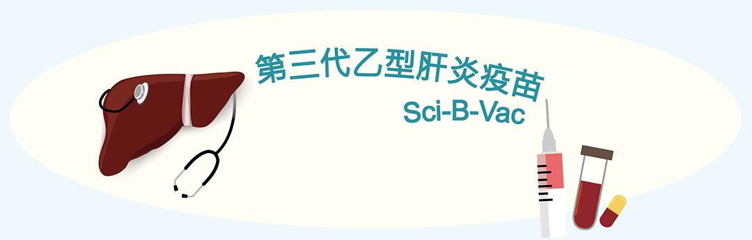第三代乙型肝炎疫苗 Sci-B-Vac™